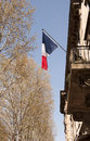 French patriotism Royalty Free Stock Photo