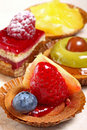 French petit fours Stock Photo