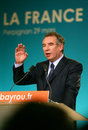 French politician Francois Bayrou Royalty Free Stock Photos
