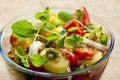 French potato salad Royalty Free Stock Photo