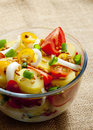 French potato salad Royalty Free Stock Photo