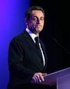 French president's Nicolas Sarkozy Royalty Free Stock Photo