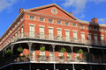 French Quarter Architecture Royalty Free Stock Images
