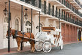 French Quarter Tour Royalty Free Stock Photo