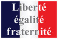The French Republic flag