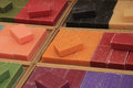 French soap at a market stall Royalty Free Stock Photo