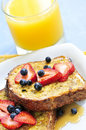 French toast Stock Photo