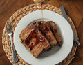 French toast for breakfast Royalty Free Stock Photo