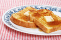 French toast on a plate Stock Photos