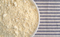French vanilla cake mix top close view Royalty Free Stock Photo