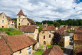French village in perigord france Stock Photography