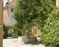 French Village, town in Provence. Royalty Free Stock Photos