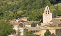 French Village, typical town. Provence. France. Stock Photos