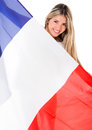 French woman Royalty Free Stock Photos
