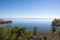 Frenchman Bay at Bar Harbor Maine USA Royalty Free Stock Photo