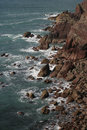 Frenchman s bay pembrokeshire coast in wales Stock Images