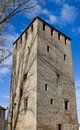 Frenchman tower franzosische turm circa small france block strasbourg unesco site alsace region france Stock Photos
