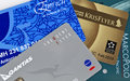 Frequent Flyer Card Collage Royalty Free Stock Photo