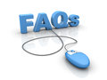 Frequently asked Questions Royalty Free Stock Photo