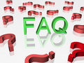 Frequently asked questions Royalty Free Stock Images