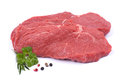 Fres beef steaks Stock Image