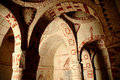 Fresco in an ancient church, Cappadocia Royalty Free Stock Photo