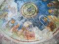 Fresco of the church of St. Nicholas, Demre Royalty Free Stock Photo