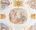 Fresco ochsenhausen Royalty Free Stock Photos