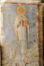 Fresco of saint nicholas in his basilica church demre turkey Stock Photography
