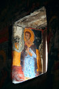 Fresco in Sumela Monastery Stock Photos