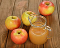 Fresh apple juice Royalty Free Stock Photo
