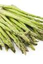 Fresh Asparagus White Background Stock Photos