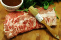 Fresh Baby Back Ribs Royalty Free Stock Photo