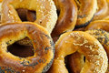 Fresh bagels Stock Photography