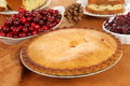 Fresh baked pie Royalty Free Stock Photo