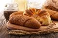 Fresh bakery products Royalty Free Stock Photo