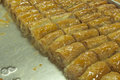 Fresh baklava Stock Photos