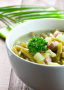 Fresh bean stew Royalty Free Stock Photography