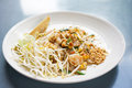 Fresh beansprout the in padthai the famous asian food in thailand Stock Photo