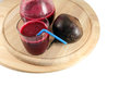 Fresh beet juice and beetroot Royalty Free Stock Photo