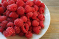 Fresh berries raspberry rubus idaeus red european Stock Photos