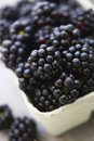 Fresh Blackberries Stock Photo