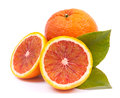 Fresh blood oranges Royalty Free Stock Photo