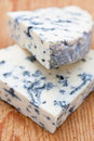 Fresh blue cheese Stock Photo