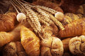 Fresh bread and pastry Stock Photography