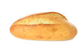Fresh bread on white background Stock Photo
