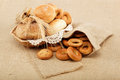 Fresh breads. Royalty Free Stock Photos