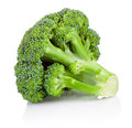 Fresh broccoli isolated on white background Royalty Free Stock Photo