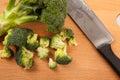 Fresh broccoli Royalty Free Stock Photo