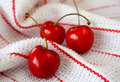 Fresh Cherries Royalty Free Stock Photo